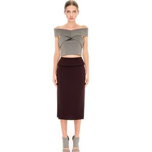 Finders Keepers ' Be Still' pencil skirt- GRAY